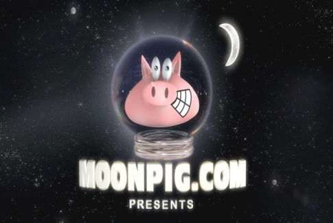 Space City Productions low cost tv ad for Moonpig