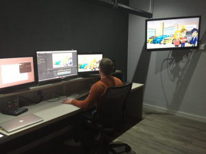 Tours of Space City Productions include seeing first hand how your advertising content is edited.