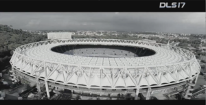 Stadium featured in Dream League Soccer World Cup advertising production